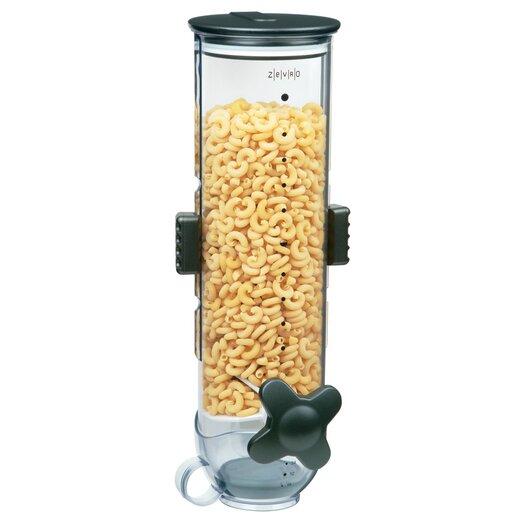 Zevro Smart Space Edition Single Wall Mount 13-oz. Dry Food Dispenser