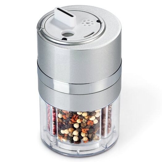 Zevro Dial-a-Spice Multiple Spice Container