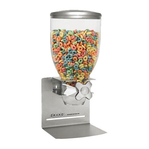 Zevro 17.5 Oz. Single Canister Smart Space Dry Food Dispenser