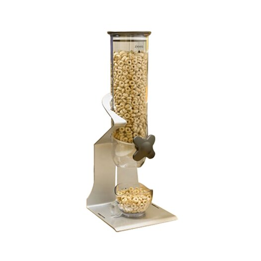 Zevro Smart Space Edition Single Countertop 13-Oz. Dry Food Dispenser