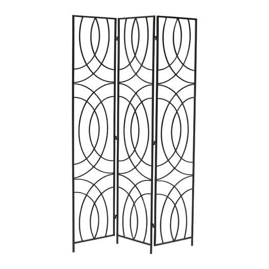 "Cyan Design 69.25"" x 50.25"" Orb 3 Panel Room Divider"
