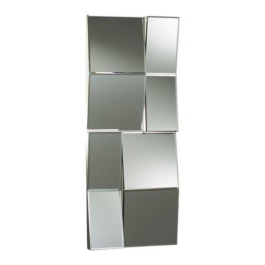 Cyan Design Patchwork Mirror