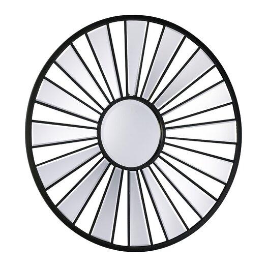 """Cyan Design 32"""" H x 32"""" W Segment Round Mirror"""