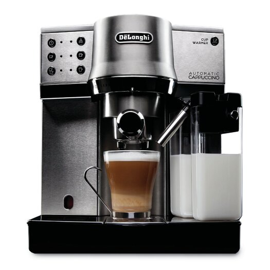 DeLonghi 15-Bar Pump Espresso Maker with Automatic Cappuccino System