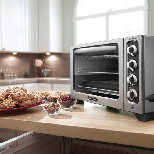 "KitchenAid 12"" Convection Bake Countertop Oven"
