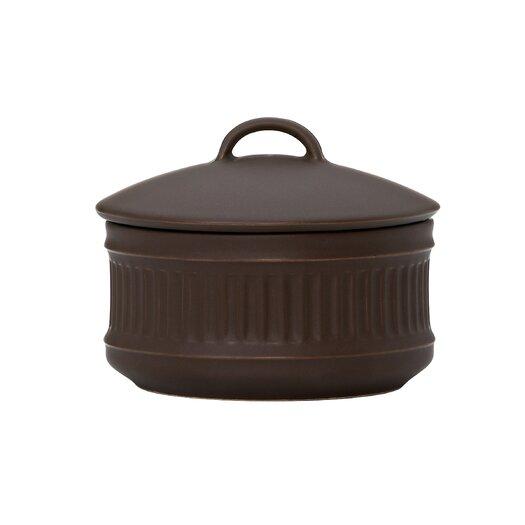 Dansk Flamestone Brown Sugar Bowl with Lid