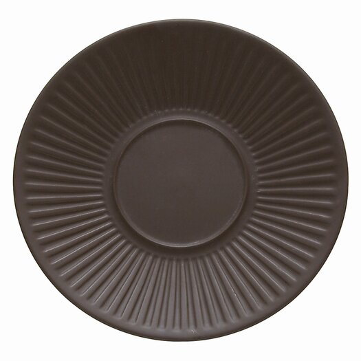 "Dansk Flamestone Brown 6.5"" Saucer"