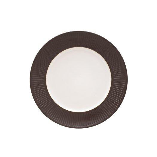 Dansk Flamestone Brown Round Platter