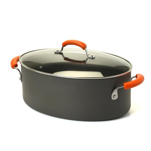 Rachael Ray Hard Anodized 8 Qt. Stock Pot with Lid