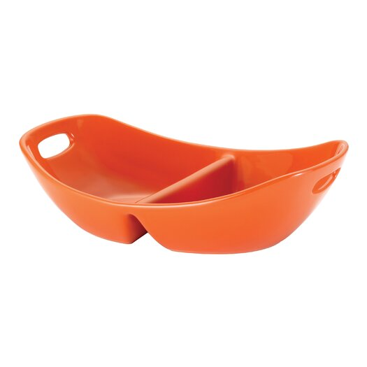 Rachael Ray Stoneware Divided Serving Dish