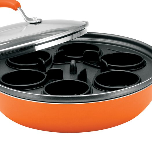 Rachael Ray Porcelain II Nonstick Covered Deep Skillet