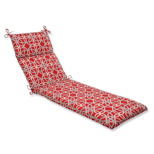 Pillow Perfect Keene Outdoor Chaise Lounge Cushion