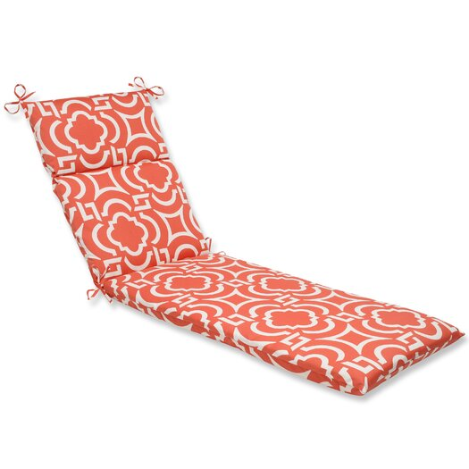 Pillow Perfect Carmody Outdoor Chaise Lounge Cushion