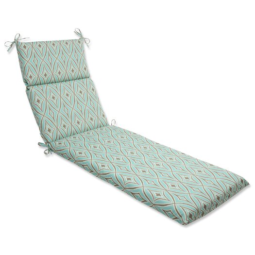 Pillow Perfect Centro Outdoor Chaise Lounge Cushion