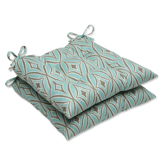 Pillow Perfect Centro Outdoor Dining Chair Cushion