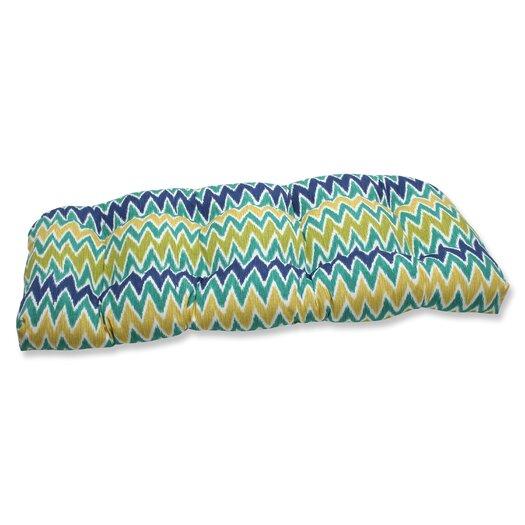 Pillow Perfect Zulu Outdoor Loveseat Cushion