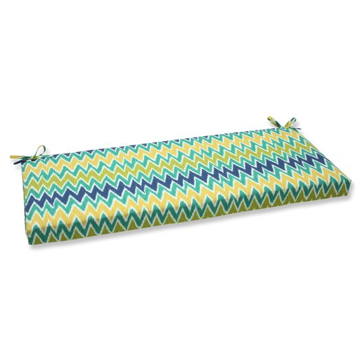 Pillow Perfect Zulu Outdoor Bench Cushion