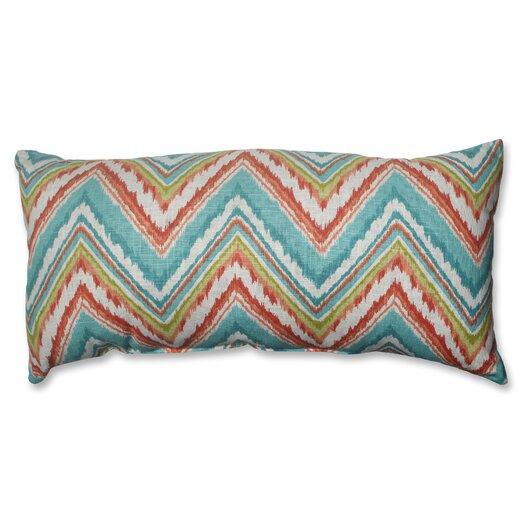 Pillow Perfect Chevron Cherade Throw Pillow
