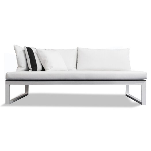 Harbour Outdoor Piano Armless Deep Seating Sofa with Cushions