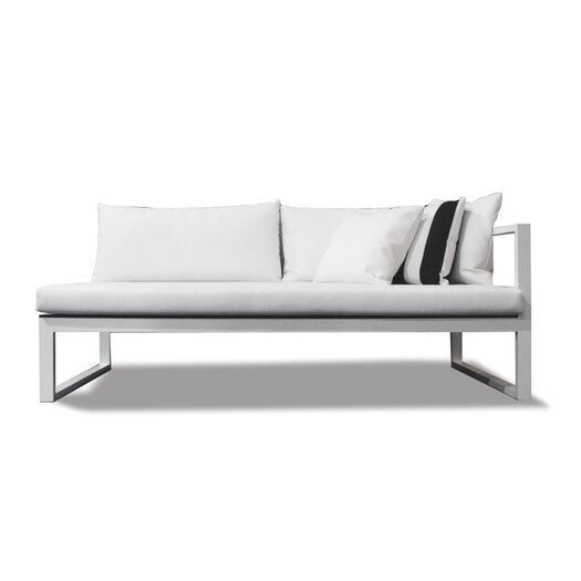 Harbour Outdoor Piano Right Arm Sofa with Mesh Cushions