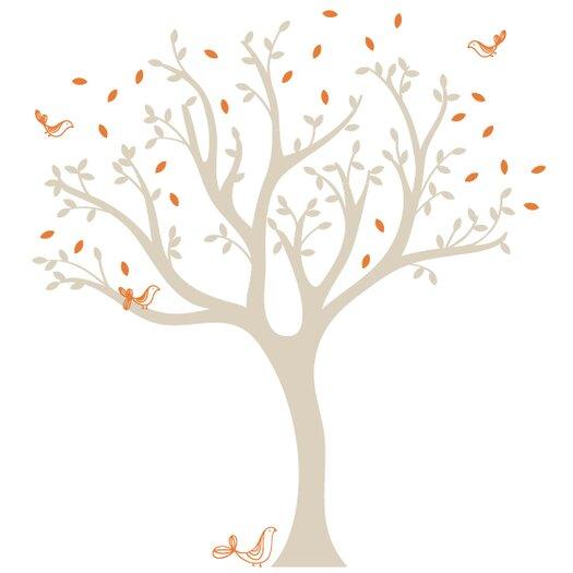 LittleLion Studio Trees Tweet Wall Decal