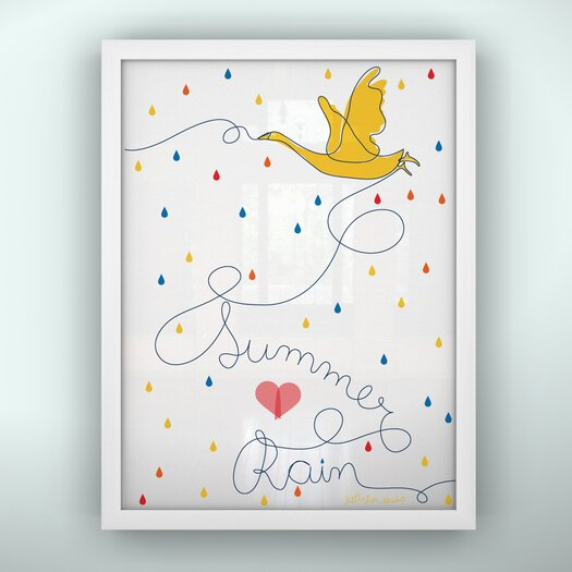 LittleLion Studio Prints Summer Rain Unframed Art