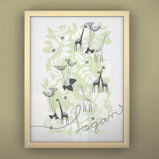 LittleLion Studio Prints Unframed Backyard Art