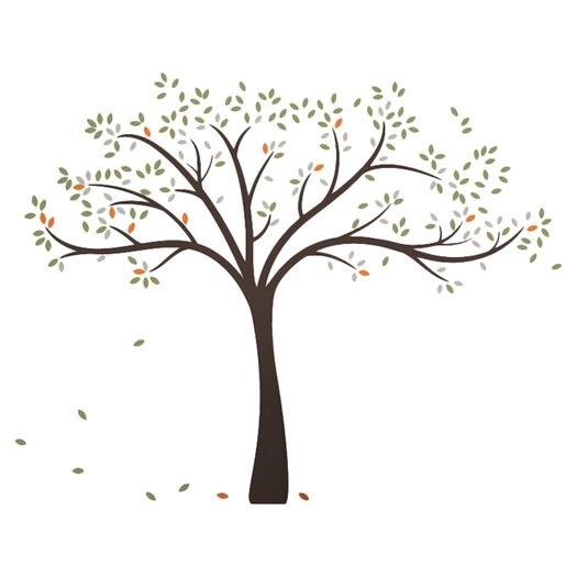 LittleLion Studio Trees Fall Wall Decal
