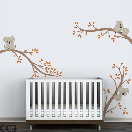 Tree Branches Koala Wall Decal