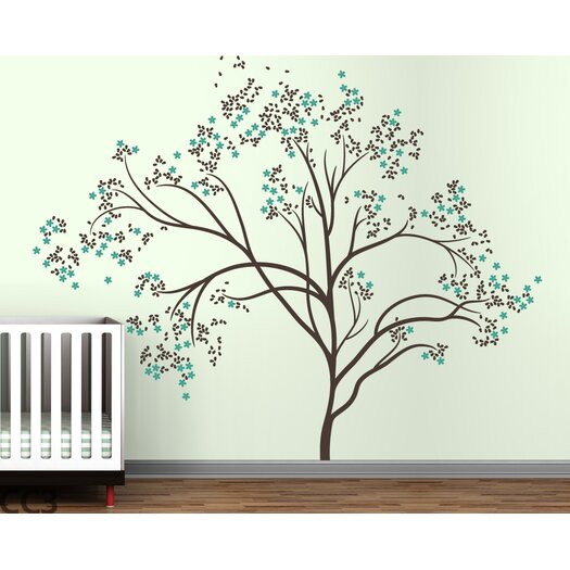 Trees Blossom Wall Decal