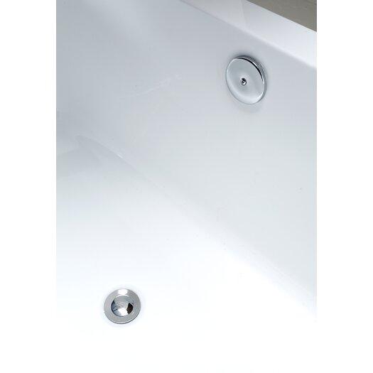 """Ove Decors Kido 69"""" x 23"""" Acrylic Freestanding Bathtub"""