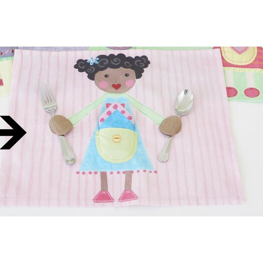 The Little Acorn Girl Placemat