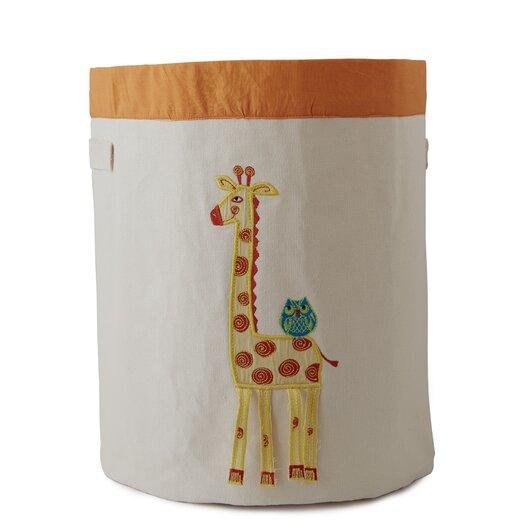 The Little Acorn Funny Friends Giraffe Toy Storage Bin