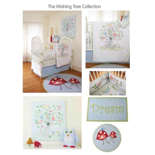 The Little Acorn Wishing Tree Crib Bed Skirt