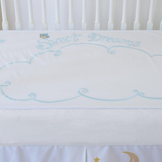 The Little Acorn Baby Owls Sweet Dreams Fitted Crib Sheet