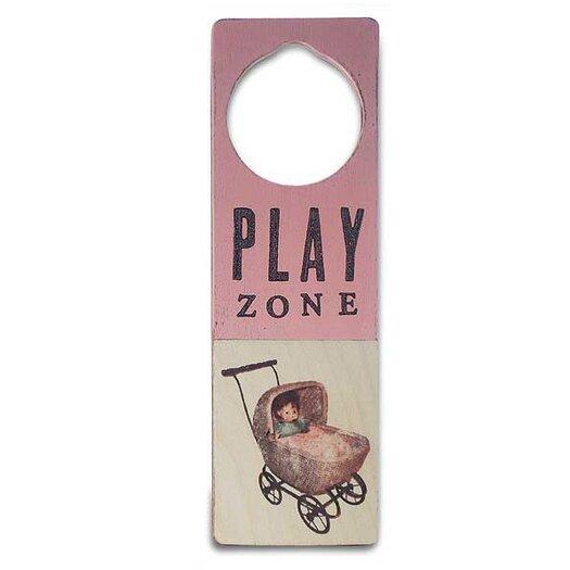 """Tree by Kerri Lee """"Play Zone"""" Door Hanger"""