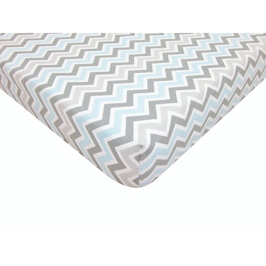 American Baby Company Percale 100% Cotton Fitted Crib Sheet