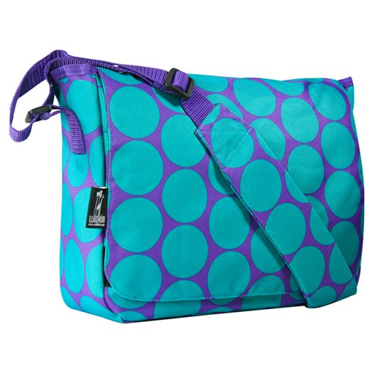 Wildkin Big Dots Kickstart Messenger Bag