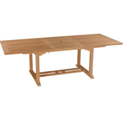 "Anderson Teak Bahama 94"" Rectangular Extension Table"