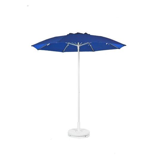 Frankford Umbrellas 7.5 ft. Diameter Fiberglass Commercial Grade Patio Umbrella with Vent, No Valance