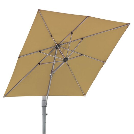 Frankford Umbrellas 10 ft. Square Commercial Grade Eclipse Cantilever Umbrella