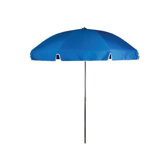 Frankford Umbrellas 7.5 ft. Diameter Steel Commercial Grade Beach Umbrella