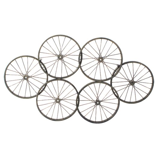 Moe's Home Collection Wheels Wall Décor