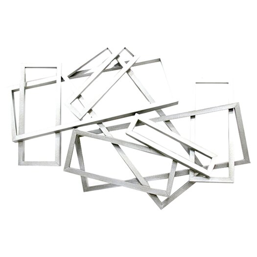 Moe's Home Collection Metal Rectangles Wall Décor