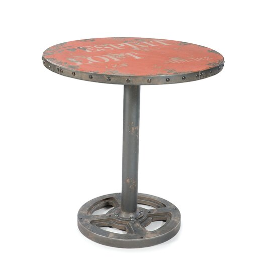 Moe's Home Collection Round Wheel End Table
