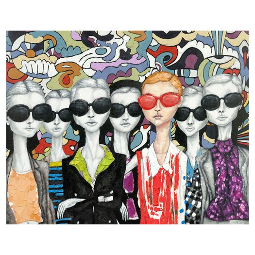 Moe's Home Collection Fashion Painting Print on Wrapped Canvas