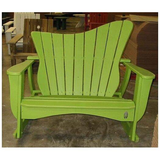 Uwharrie Chair Wave Settee Rocking Chair