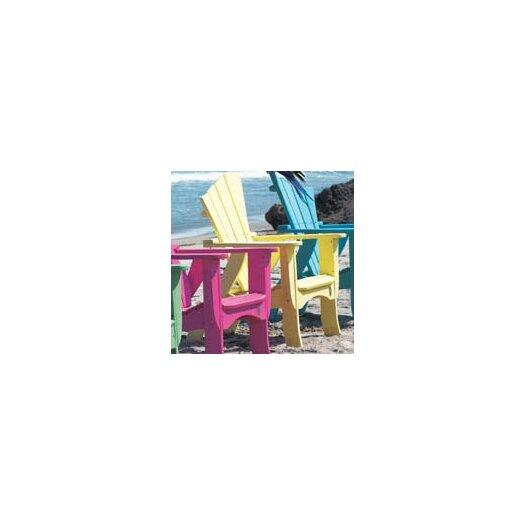 Uwharrie Chair Wave Adirondack Chair