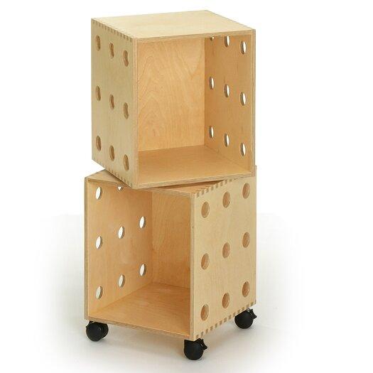 "Offi Perf 33"" Cube Unit Bookcase"