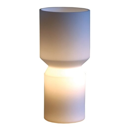 """Offi Vee 11"""" H Table Lamp with Novelty Shade"""